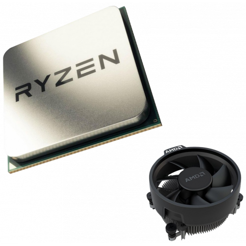 Фото Процесор AMD Ryzen 3 3200G 3.6(4)GHz 4MB sAM4 Multipack (YD3200C5FHMPK)