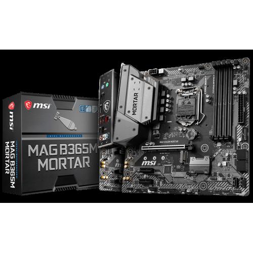 Фото Материнская плата MSI MAG B365M MORTAR (s1151-V2, Intel B365)