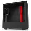 NZXT H510 Tempered Glass (CA-H510B-BR) Matte Black/Red