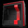 NZXT H710i (CA-H710i-BR) Matte Black/Red