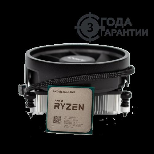Фото Процесор AMD Ryzen 5 3600 3.6(4.2)GHz 32MB sAM4 Multipack (100-100000031MPK)