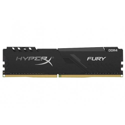 Фото ОЗУ Kingston DDR4 4GB 2666Mhz HyperX FURY Black (HX426C16FB3/4)
