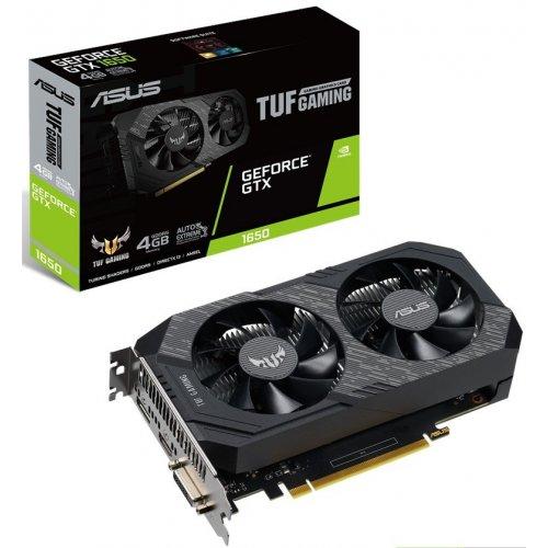 Фото Видеокарта Asus TUF GeForce GTX 1650 Gaming 4096MB (TUF-GTX1650-4G-GAMING)