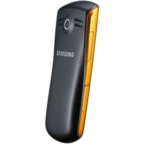 Фото Мобильный телефон Samsung C3200 Monte Bar Black Orange