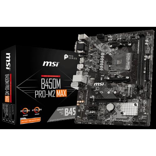 Картинки по запросу AMD B450 MSI B450M PRO-M2 MAX