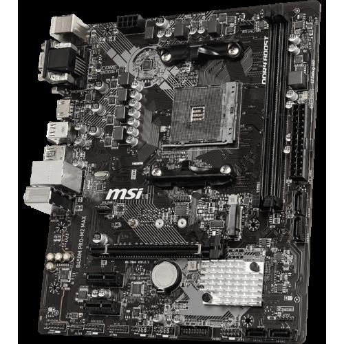 Фото Материнская плата MSI B450M PRO-M2 MAX (sAM4, AMD B450)