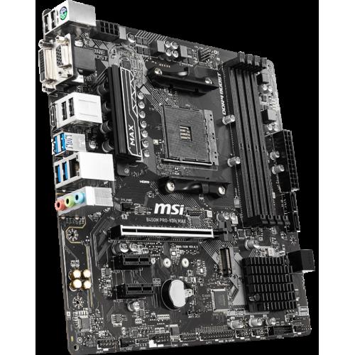 Фото Материнская плата MSI B450M PRO-VDH MAX (sAM4, AMD B450)