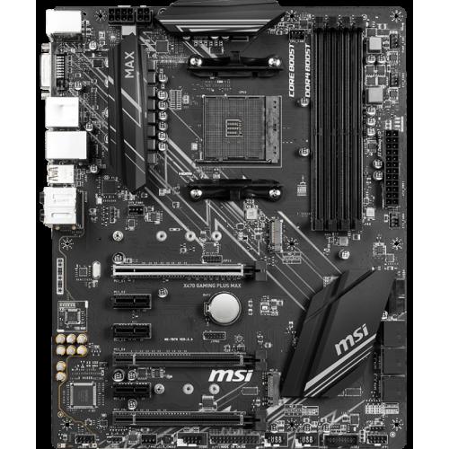 Фото Материнская плата MSI X470 GAMING PLUS MAX (sAM4, AMD X470)