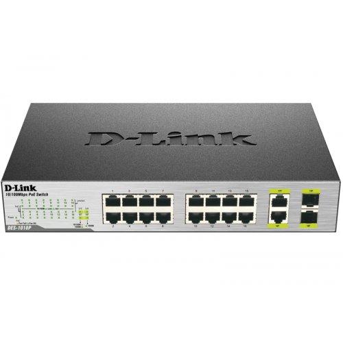 Купить Сетевые коммутаторы, D-Link DES-1018P