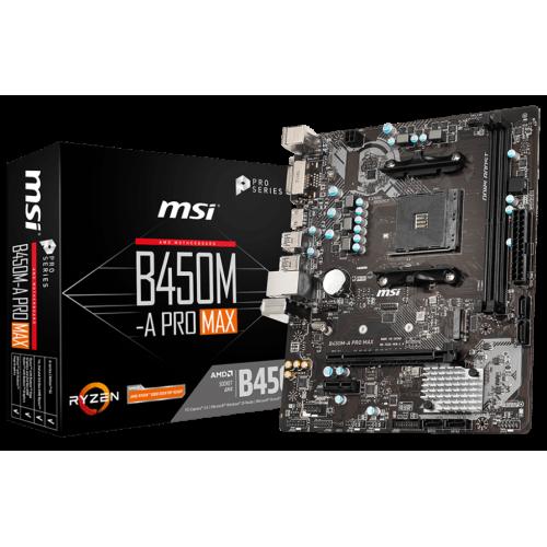 Фото MSI B450M-A PRO MAX (sAM4, AMD B450)