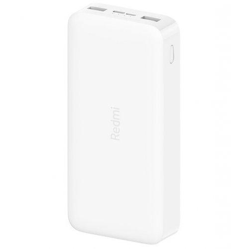 Фото Універсальний акумулятор Xiaomi Power Bank Redmi 20000mAh White