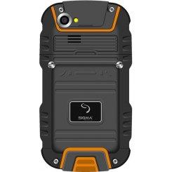 Фото Смартфон Sigma mobile X-treme PQ22B (2800+4500 mAh) Black-Orange
