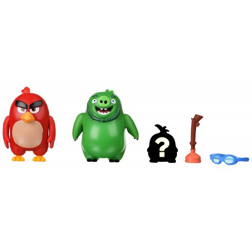 Jazwares Angry Birds ANB Mission Flock Red & Leonard (ANB0010)