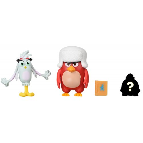 Jazwares Angry Birds ANB Mission Flock Red & Silver (ANB0007)