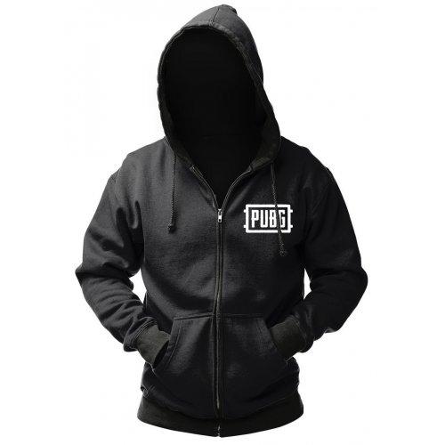 Купить Одежда, GAYA PUBG Zip-Up Logo L (GE6275L) Black