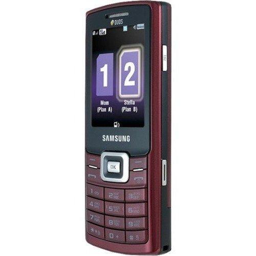 Фото Мобильный телефон Samsung C5212 Duos Ruby Red