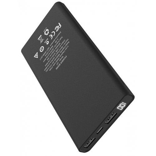Фото Внешний аккумулятор Hoco J37 Wisdom LED Digital display Wireless 10000mAh Black