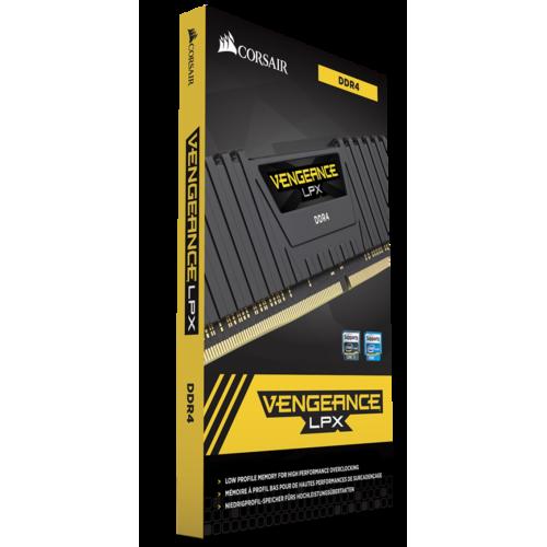 Фото ОЗУ Corsair DDR4 32GB (2x16GB) 4133Mhz Vengeance LPX Black (CMK32GX4M2K4133C19)