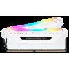 Фото Corsair DDR4 16GB (2x8GB) 3200Mhz Vengeance RGB Pro White (CMW16GX4M2C3200C16W)