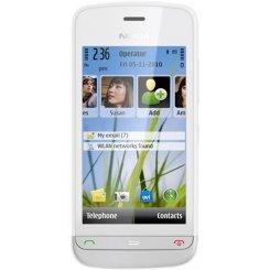 Фото Мобильный телефон Nokia C5-03 White Illuvial