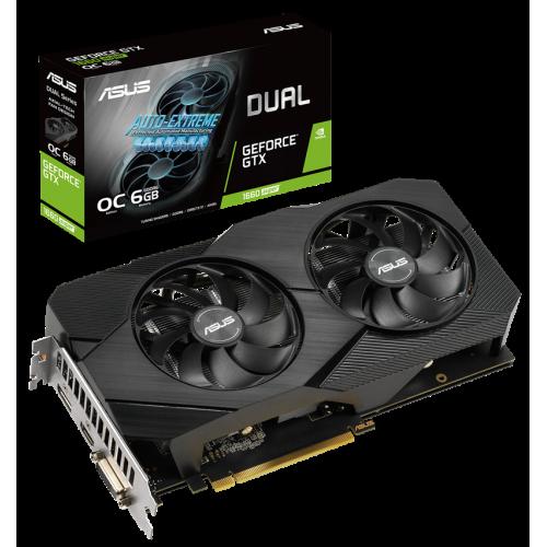 Фото Asus GeForce GTX 1660 SUPER Dual Evo OC 6144MB (DUAL-GTX1660S-O6G-EVO)