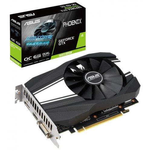Фото Asus GeForce GTX 1660 SUPER Phoenix OC 6144MB (PH-GTX1660S-O6G)