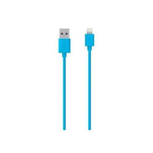 Фото Кабель Belkin MIXIT Lightning 1.2m (F8J023bt04) Blue
