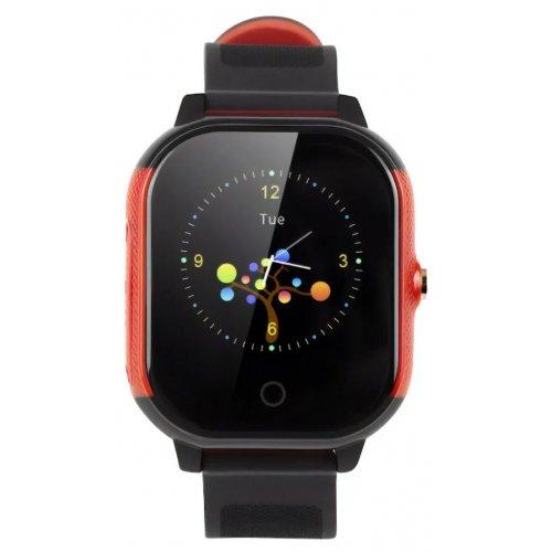 Фото Умные часы GOGPS ME К23 (K23BKRD) Black/Red