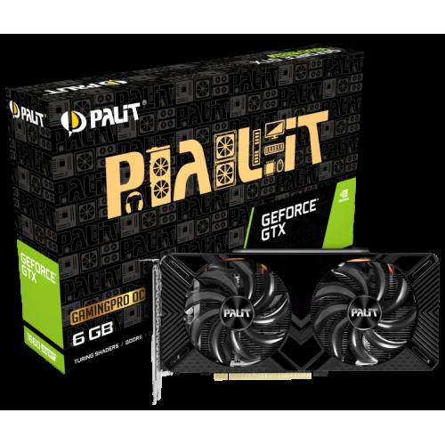 Фото Palit GeForce GTX 1660 SUPER GamingPro Dual OC 6144MB (NE6166SS18J9-1160A)