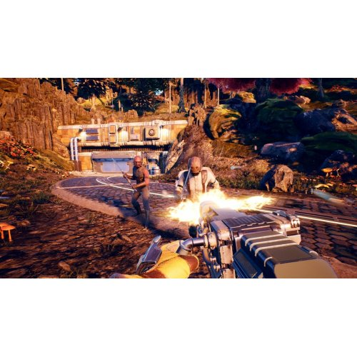 Фото Игра для PS4 The Outer Worlds (PS4) Blu-ray (5026555426237)