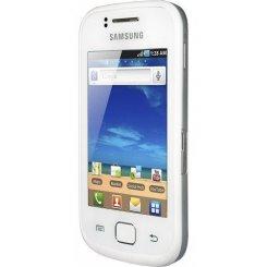 Фото Смартфон Samsung Galaxy Gio S5660 Silver White