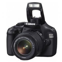 Фото Цифровые фотоаппараты Canon EOS 1100D 18-55 III Kit