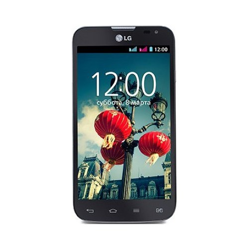 Фото Смартфон LG Optimus L70 D325 Dual Sim Black