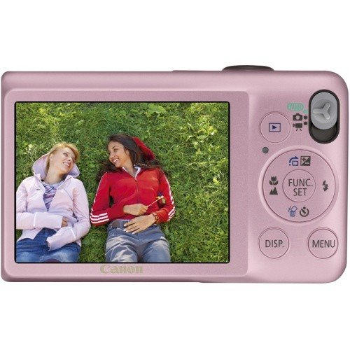 Фото Цифровые фотоаппараты Canon IXUS 105 Pink