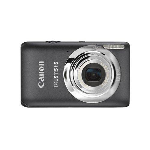 Фото Цифровые фотоаппараты Canon IXUS 115 HS Grey