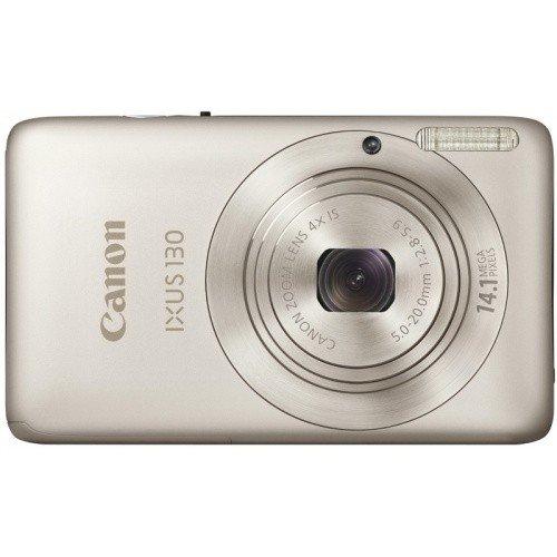 Фото Цифровые фотоаппараты Canon IXUS 130 Silver