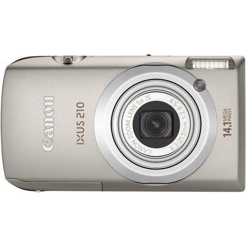 Фото Цифровые фотоаппараты Canon IXUS 210 Silver