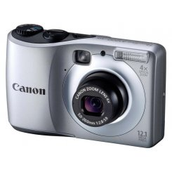 Фото Цифровые фотоаппараты Canon PowerShot A1200 Silver