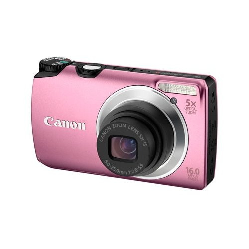 Фото Цифровые фотоаппараты Canon PowerShot A3300 IS Pink