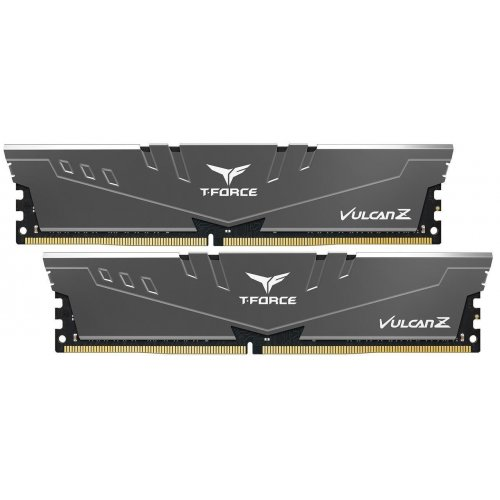Фото ОЗУ Team DDR4 8GB (2x4GB) 2666Mhz T-Force Vulcan Z Gray (TLZGD48G2666HC18HDC01)