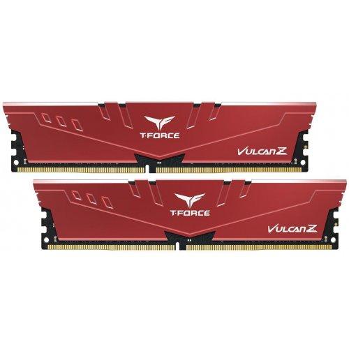 Купить Модули памяти, Team DDR4 8GB (2x4GB) 2666Mhz T-Force Vulcan Z Red (TLZRD48G2666HC18HDC01)