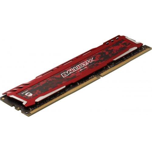Фото ОЗУ Crucial DDR4 32GB (2x16GB) 3000Mhz Ballistix Sport LT Red (BLS2K16G4D30AESE)