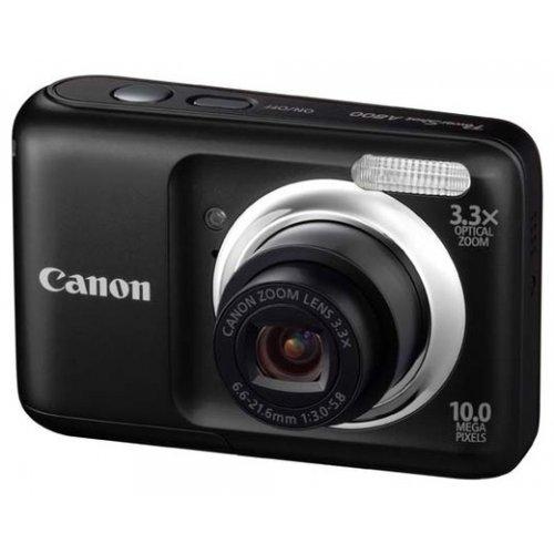 Фото Цифровые фотоаппараты Canon PowerShot A800 Black