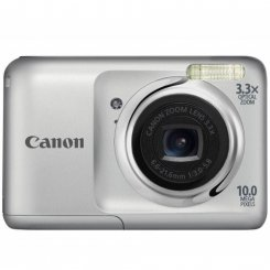 Фото Цифровые фотоаппараты Canon PowerShot A800 Silver