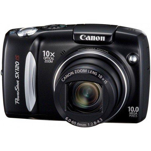 Фото Цифровые фотоаппараты Canon PowerShot SX120 IS Black