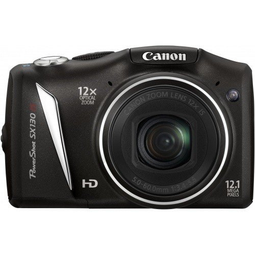 Фото Цифровые фотоаппараты Canon PowerShot SX130 IS Black