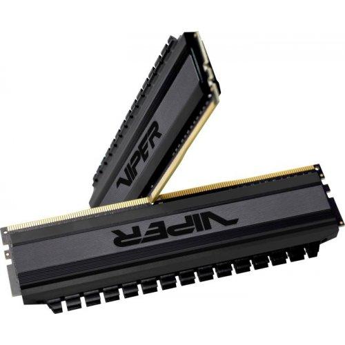 Фото Patriot DDR4 16GB (2x8GB) 3000Mhz Viper 4 Blackout (PVB416G300C6K)