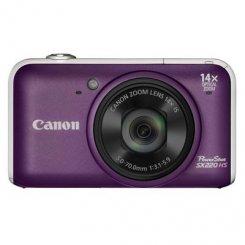 Фото Цифровые фотоаппараты Canon PowerShot SX220 HS Purple