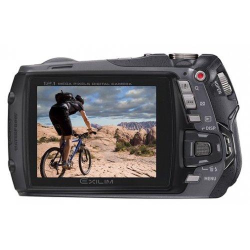 Фото Цифровые фотоаппараты Casio Exilim EX-G1 Black