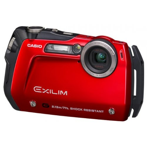 Фото Цифровые фотоаппараты Casio Exilim EX-G1 Red